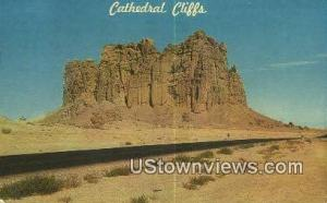 Cathedral Cliffs Gallup NM 1966