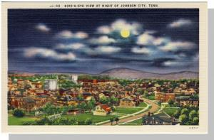 Johnson City,Tennessee/TN Postcard, Bird's Eye View,Nr Mint!