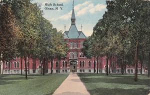 OLEAN, New York, 1900-1910's; High School