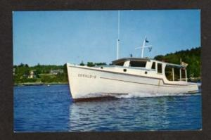 ME Gerald S Breezemere Boat SOUTH BROOKSVILLE MAINE PC