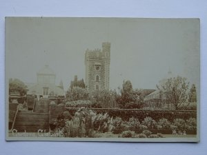 Ireland Wicklow Arklow GLENART CASTLE GARDENS c1905 RP Postcard