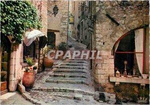 Modern Postcard Saint Paul de Vence AM An old street