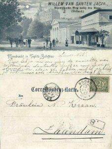 czech germany, TEPLITZ-SCHÖNAU TEPLICE, Stephansbad Steinbad (1900) Postcard