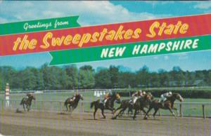 Greetings From New Hampshire The Sweepstakes State Horse Racing