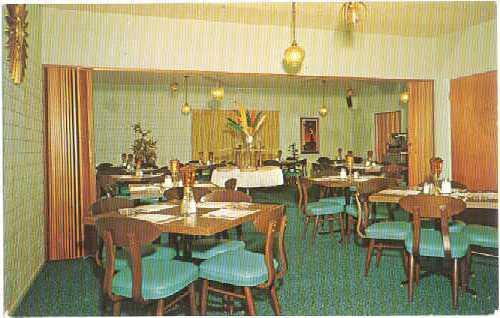 Dining Room The Chatterbox Restaurant Casa Grande Arizona Az Chrome