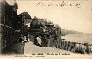 CPA AULT - Chemin des Douaniers (514561)