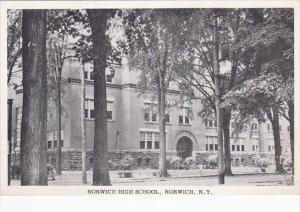 Norwich High School , NORWICH , New York , 1910s