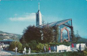 California Rancho Palos Verdes Wayfarer's Chapel 1959