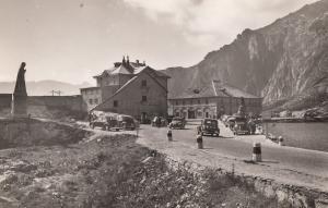 Hotel Monta Prosa Passo Gottardo Swiss Alps Real Photo Old Postcard