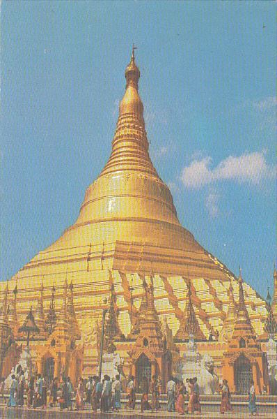 Mayanmar Burma Shwedagon Pagoda