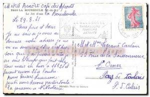 Old Postcard La Bourboule The Jet D'Eau