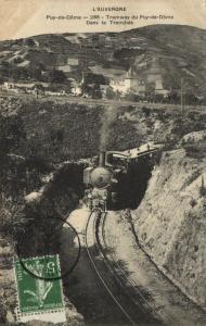 CPA L'Auvergne - Puy-de-Dome - Tramway (105902)