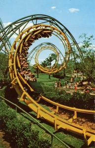 FL - Tampa, Busch Gardens. The Python Roller Coaster