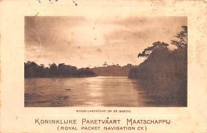 Indonesia, Republik Indonesia Rivier Landschap op De Barito  Rivier Landschap...