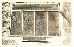 Donner Party Plaque at Murphy Cabin Donner Memorial CA