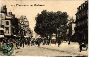 CPA PÉRIGUEUX-Les Boulevards (233840)