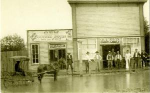New Mexico - From the Archives - Gem Saloon and Coffee House - reprint