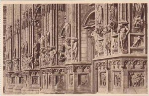 Italy Milano Il Duomo Zona inferiore della