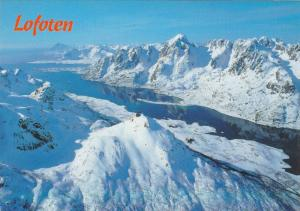 Scenic Greeting from Lofoten, Norway,50-70s