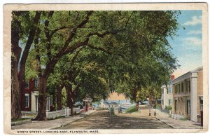 Plymouth, Mass, North Street, Looking East