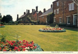 UK Postcard England Northampton Garden at Delapre