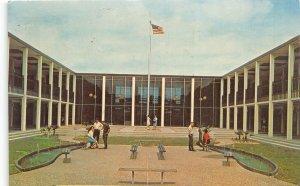 Houston Texas 1967 Postcard Quadrangle at Houston Baptist College
