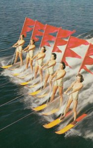 Water-Skiing , Florida , 50-60s ; #7