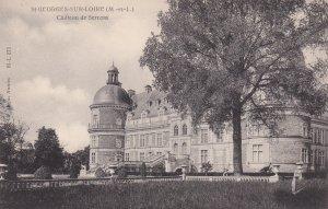 ST. GEORGES-SUR-LOIRE, Maine et Loire, France, 1900-10s; Chateau de Serrent