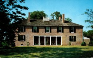 Maryland Leonardtown Tudor Hall Home Of St Mary's Memorial Library