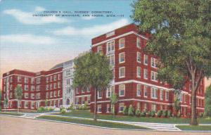 Cousen's Hall, Nurses' Dormitory, University of Michigan, ANN ARBOR, Michigan...