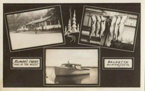 RP: BAUDETTE , Minnesota , 1920-30s ; Klimek's Lodge , Lake of the Water