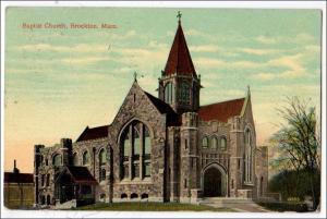 Baptist Church, Brockton MA