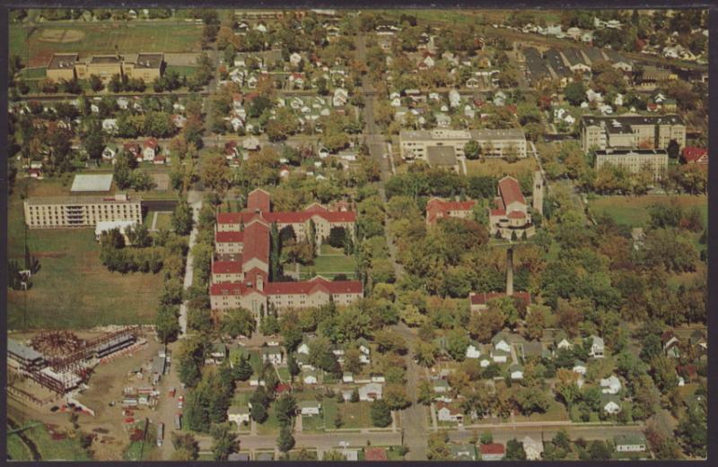 Bird's Eye View,College of Saint Teresa,Winona,MN Postcard