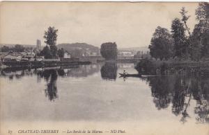 CHATEAU-THIERRY, Les bords de la Marne, Aisne, France, 00-10s