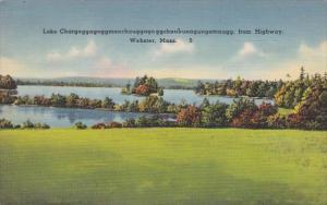 Massachusetts Webster Lake Chargoggagoggmanchu 1941