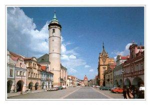 Street Scene Domazlice,Czech republic BIN