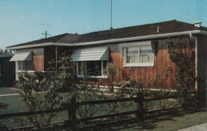 COSTA MESA , California , 1940-60s ;  All Weather Aluminum Awning Co.