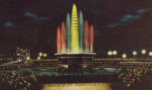 Fountain of Light in Atlantic City, New Jersey