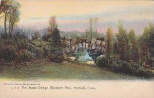 New Hampshire Hartford The Stone Bridge Elizabeth Park