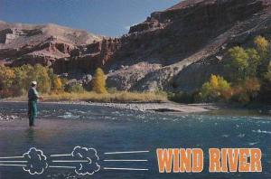 Wyoming Wind River Canyon Fishing