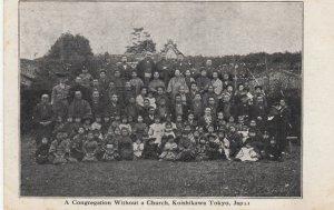Koishikawa Tokyo , Japan , 1909 ; Congregation without a church