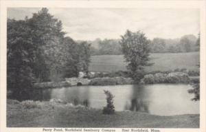Massachusetts East Northfield Perry Pond Northfield Seminary Albertype