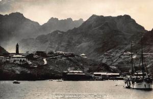 Yemen Aden General view from The Sea Postcard