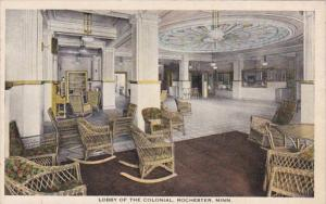 Minnesota Rochester Colonial Hotel Lobby