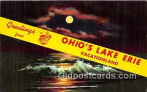 Lake Erie Ohio, USA Postcards Post Cards Old Vintage Antique Ohio, USA Lake Erie