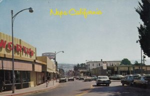 NAPA , California , 50-60s ; Main Street