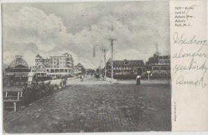 Foot Of Asbury Ave Asbury Park NJ 1906