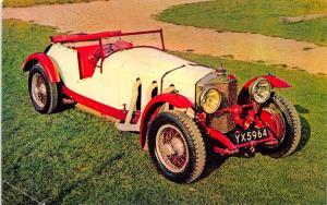 Vintage Car Postcard Mercedes Benz S (1927) by Harvey Barton & Son #C6136