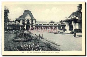 Old Postcard Le Touquet Paris Casino