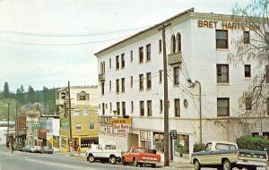 Grass Valley California~Street Scene~Storefronts~Breet Harte Inn~Ford/GMC Trucks